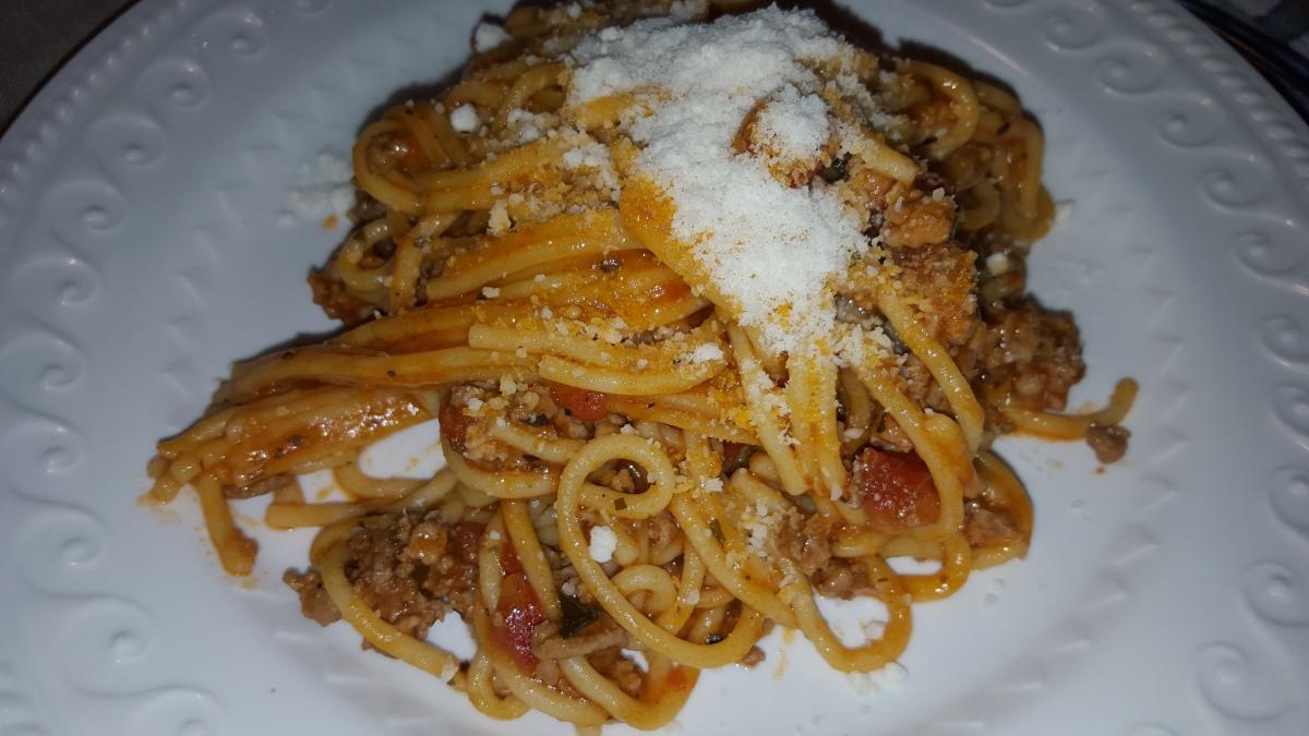 8 Minutes Spaghetti Cookbakeeathappy